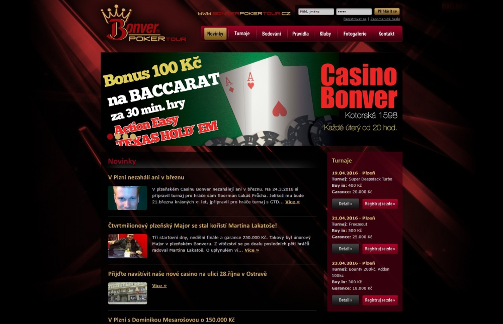 Bonver poker tour